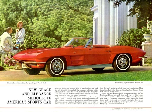 Chevrolet Corvette Ad